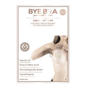 Bryst Tape Silicone Bye Bra push-up tape Str. D-F