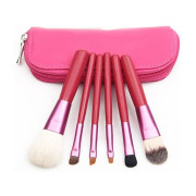 Makeup Brushes - 6 stk. - pink