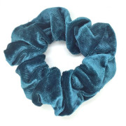 Scrunchie hårelastik, dark mint