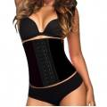 AVA® Waist Trainer Latex  - Sort