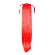 Pony tail Fiber extensions rød Total red