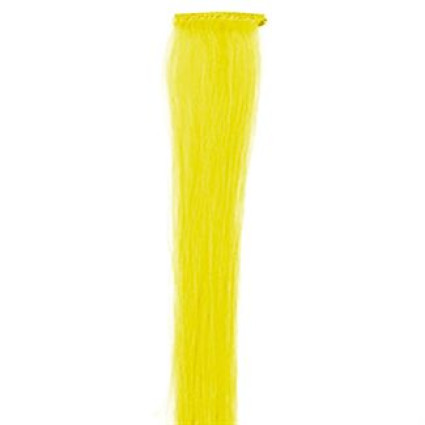 Brun, 50 cm - Crazy Color Clip On