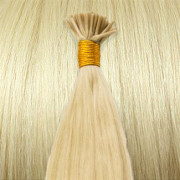 60 cm Cold Fusion hair extensions Platin blond 60#