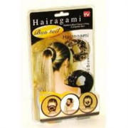 Hairagami 2pack (sort + leopard)